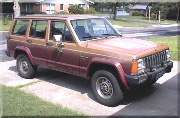 Product picture Jeep Cherokee 1988 Factory Service Manual