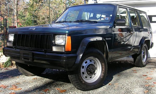 Product picture Jeep Cherokee 1995 Factory Service Manual