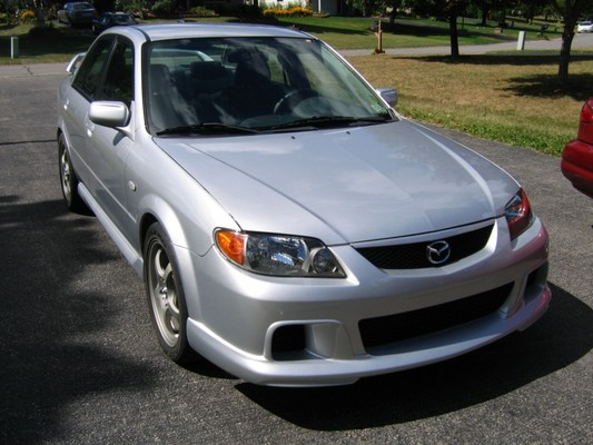 Product picture Mazda Protege 2001-2003 FSM & Parts Catalog
