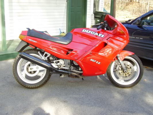 Product picture Ducati 907 IE Workshop Manual